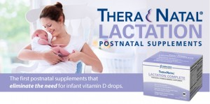 TheraNatal Lactation Complete Postnatal Vitamin Supplement (91 Day Supply).