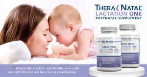 TheraNatal Lactation One Postnatal Vitamins – Lactation Supplements (90 Day Supply)